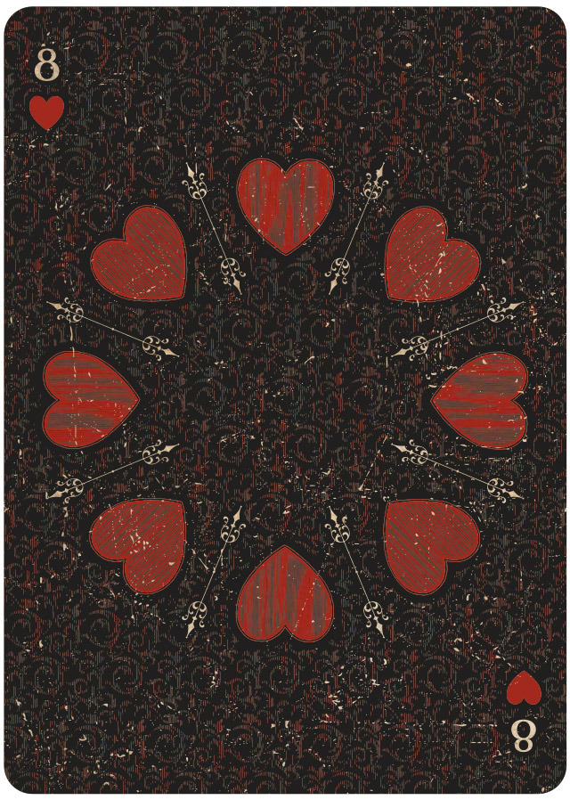 Eight of Hearts