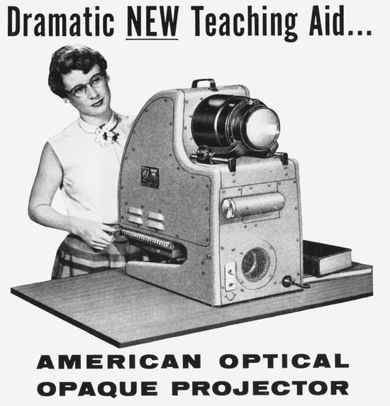 Image result for overhead projector 1950s