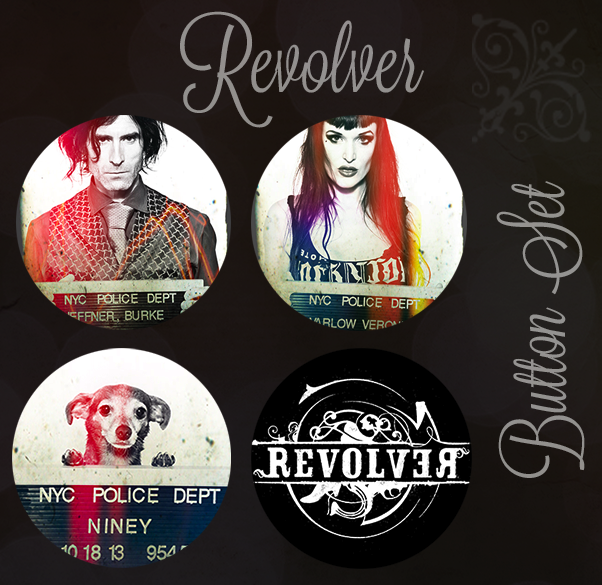Part of the REVOLVER REVOLUTION PACK:  Also includes Free Niney T-Shirt, Revolver Tote, and Downloads.  $75 Reward