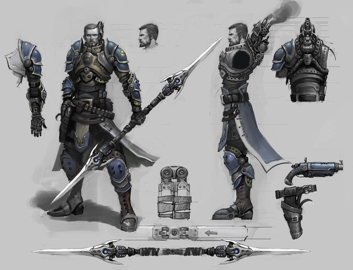 Double Ended Spear [Archive] - Privateer Press Forums