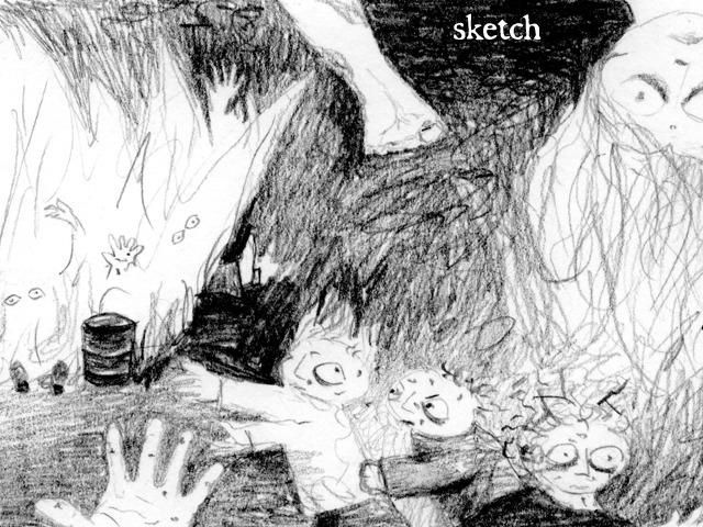 Apocalypse sketch