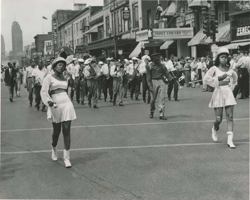 Emancipation Parade 1957 Windsor/Detroit Tunnel