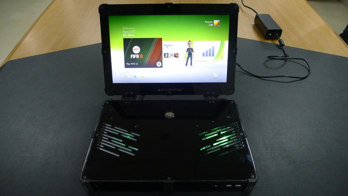 The first 720p assembled unit is done and shipped out   - Here are    Xbox 360 Laptop Amazon
