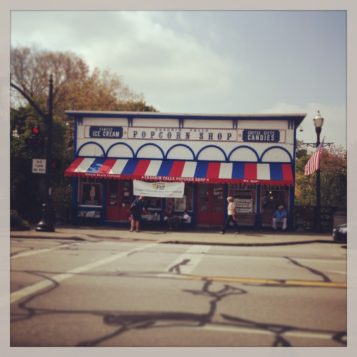 The Popcorn Shop in Chagrin Falls