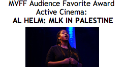 we just won an audience award at the Mill Valley Film Festival