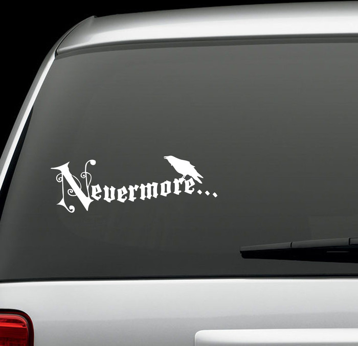 Nevermore Decal/Bumper Sticker