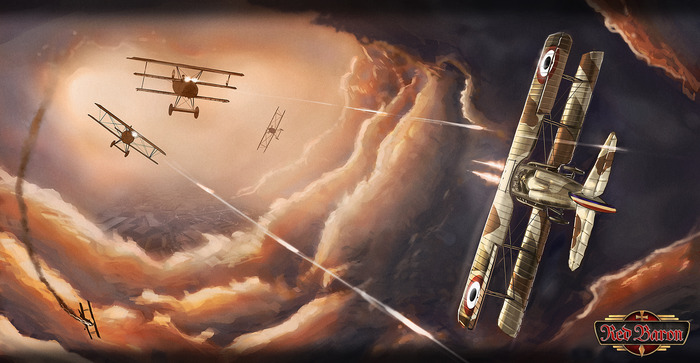 Red Baron will provide an immersive experience beyond just simulation and game.