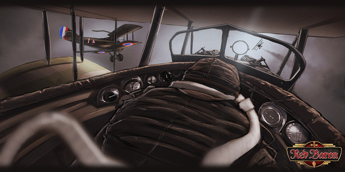 Red Baron Game on Kickstarter is coming to Linux and SteamOS