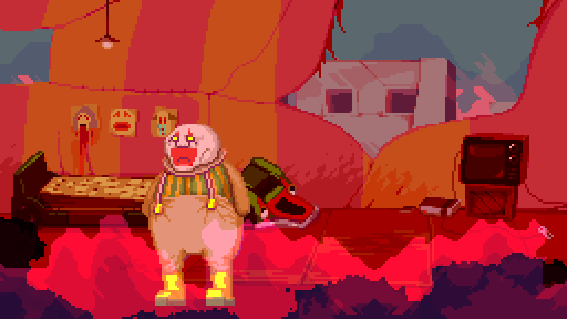 Dropsy in a nightmarish portion of his dreamworld.