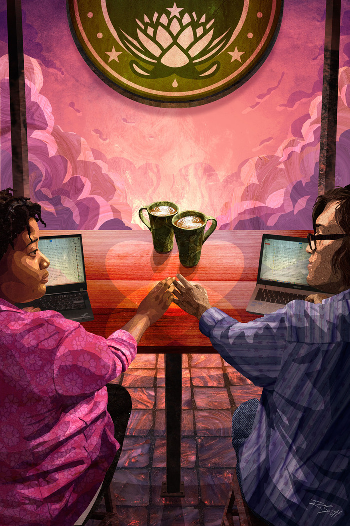 The Two of Cups: Love