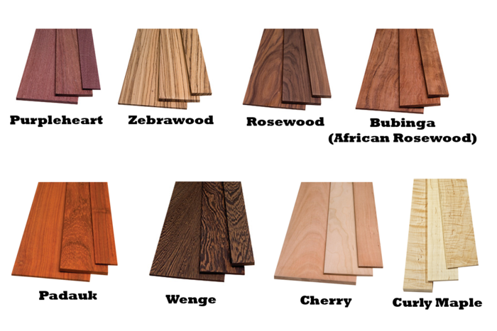 Hundreds of exotic wood blanks available online. Buy With Confidence!