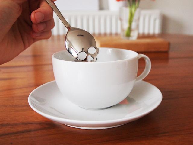 不鏽鋼骷髏糖勺,提醒你糖很邪惡
