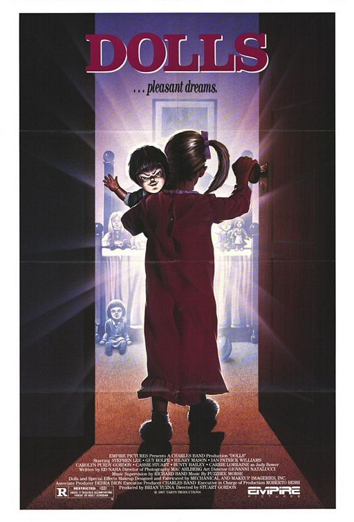 Dolls poster - signed by Stuart Gordon