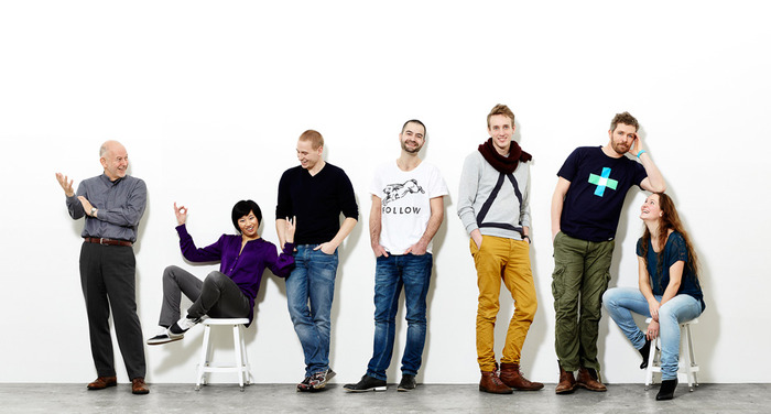 From left Frederick Rickmann, Sherry Chin, Patrick Johansen, Jakob Normand, Bjarke Mejnertsen, Lars L. Christensen and Suzanne Steekelenburg