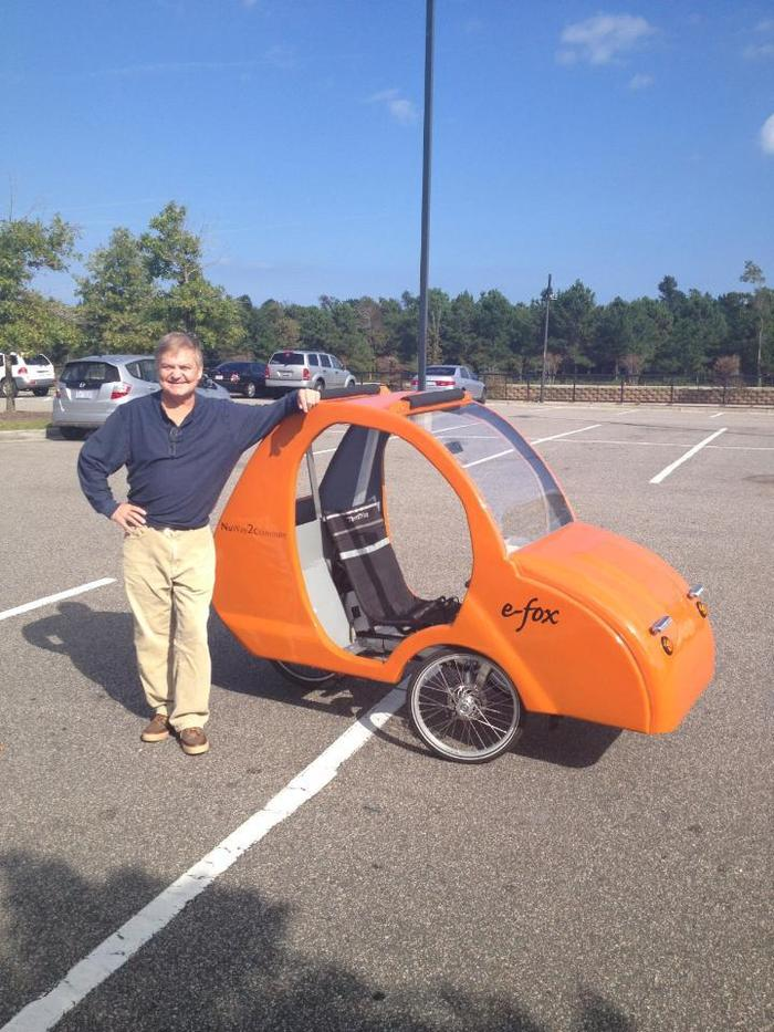 People are getting excited about the e-fox here in Wilmington!