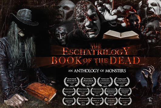 Poster for The Eschatrilogy: Book of the Dead (2012) Directed by Damian Morter of Safehouse Pictures UK