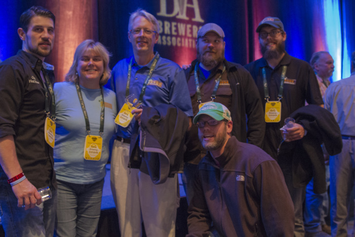 NoDa Brewing at the 2013 Great American Beer Festival Awards Ceremony