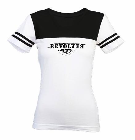 Girls Roller Derby Version of the Revolver T-shirt
