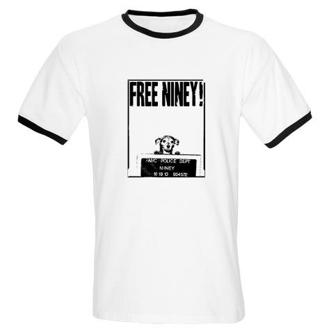 Free Niney Boys Ringer T-shirt $39