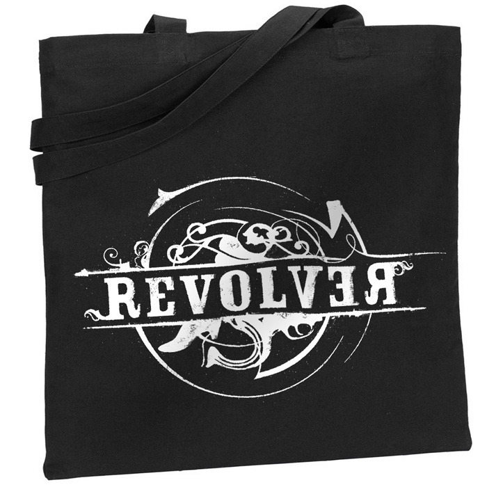 Revolver Black Canvas Tote $25