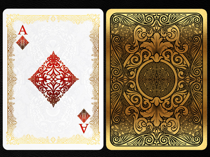 Gold Bicycle 174 Playing Cards Deck By Elite Playing Cards