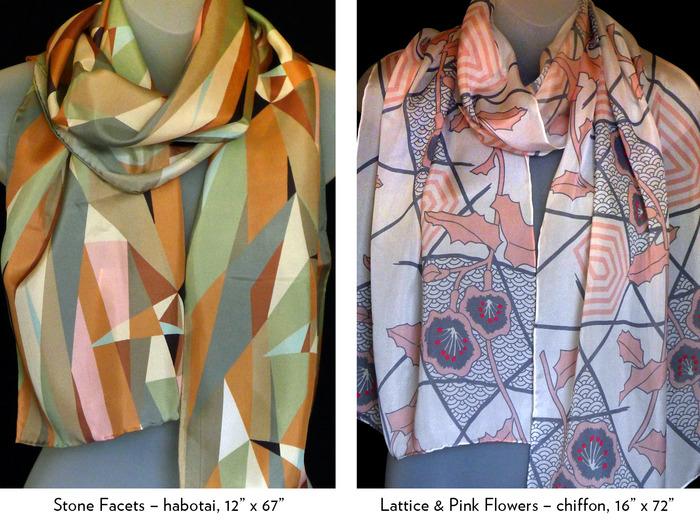 Luscious Luxurious Silk Scarves Lorenz Hermsen