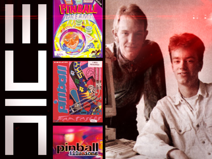 The founders of DICE released their first games, Pinball Dreams and Pinball Fantasies, through 21st Century Entertainment