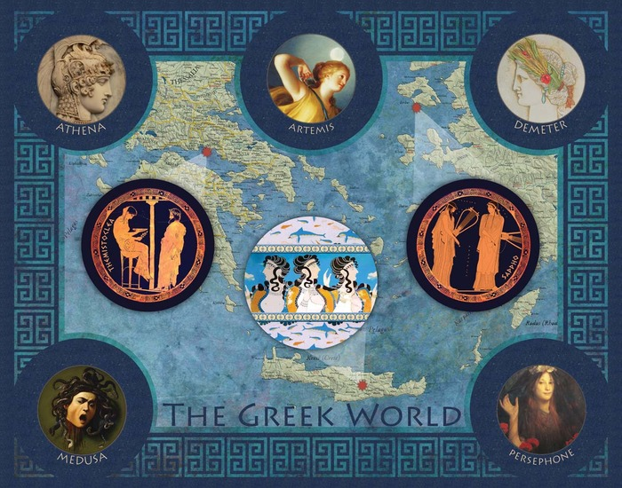 The Greek World:  available as a digital download, 8x10 print, or 11x14 print.