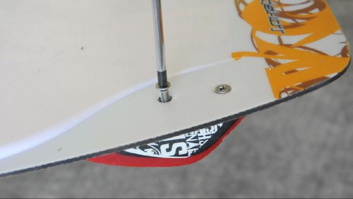 Remove stock fin screws