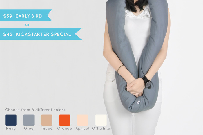 EARLY BIRD or KICKSTARTER SPECIAL: Get one Forever Pillow and choose among six colors.