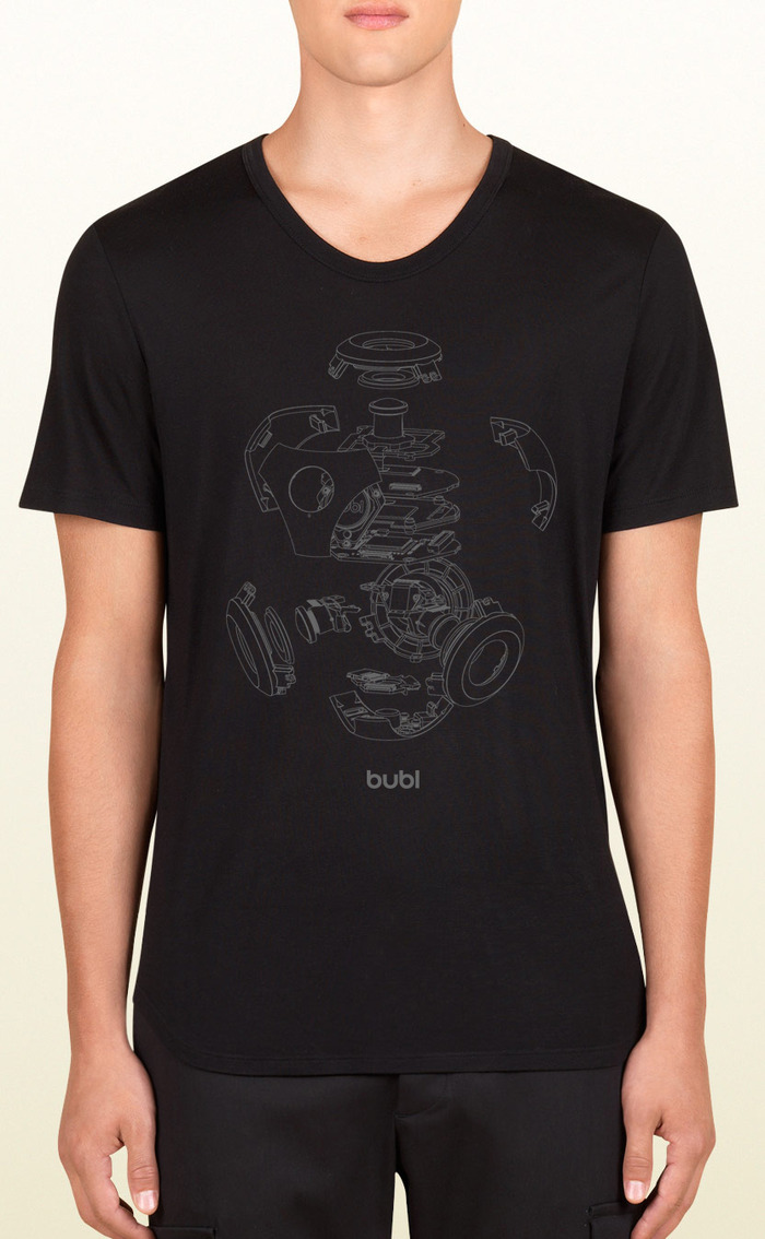 """limited edition """"exploded bublcam"""" t-shirt"""