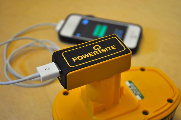 PoweriSite 3-d printed model. Simulated Charging.