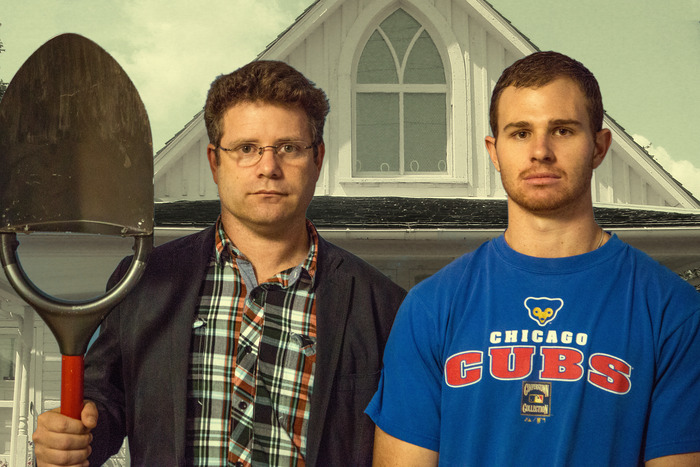 Sean Astin (famous from Rudy and Lord of the Rings) is a proud backer of Bosse Tools! This picture is our 21st century interpretation of 'American Gothic.'