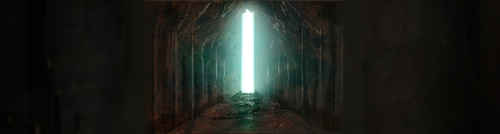 Approach to the Eon Altar. Concept Art by Brett MacDonald.