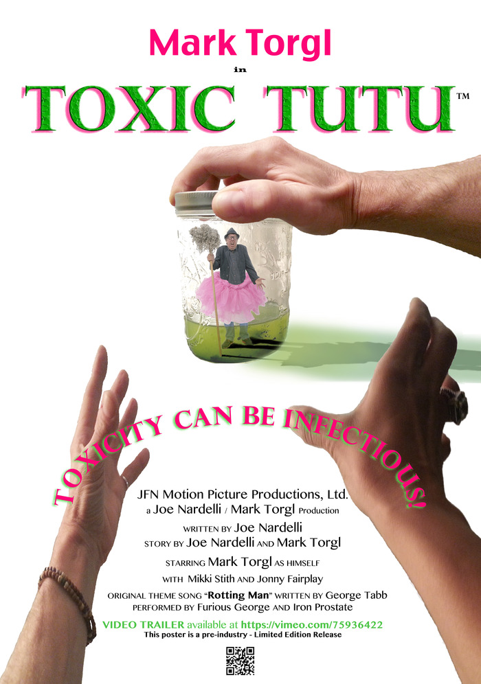 1st Edition Limited Toxic Tutu Poster for $100 Pledge