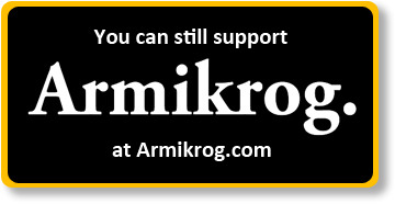 PayPal payments accepted at Armikrog.com
