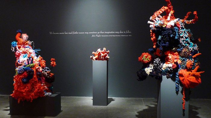 Giant Coral Forest at Art Center College of Design, Williamson Gallery.