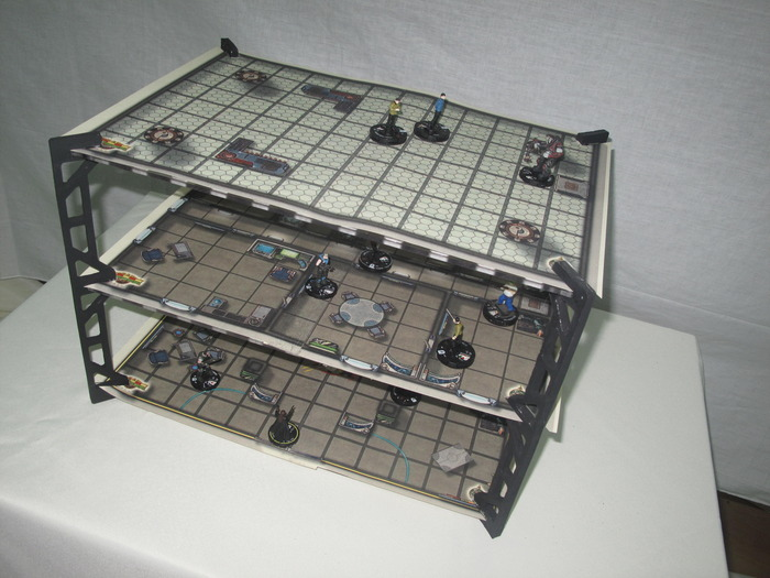 *(Figures shown not included) Double sided maps for your games!