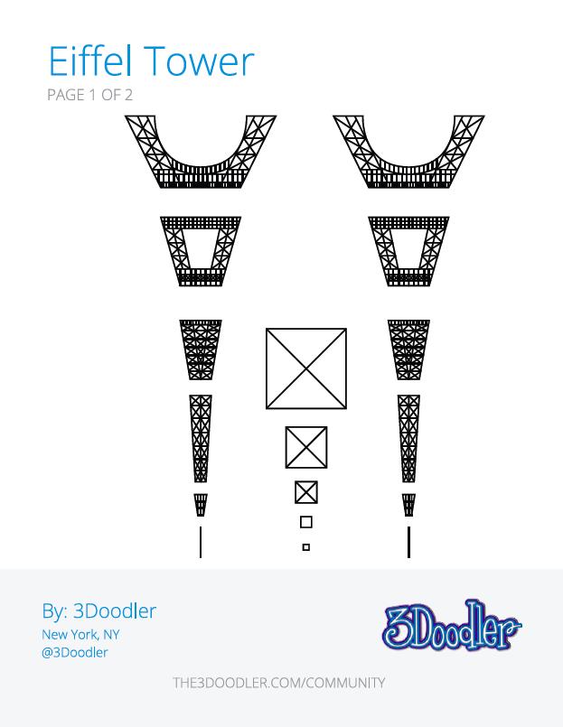 stencils galore 3doodler community site blog kickstarter With 3doodler templates