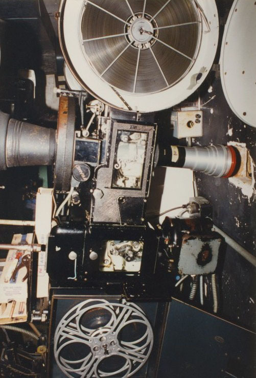 A 35mm Film Projector