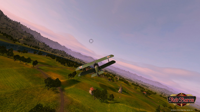Within moments of loading Red Baron, players of all skill levels can feel the thrill of air combat.