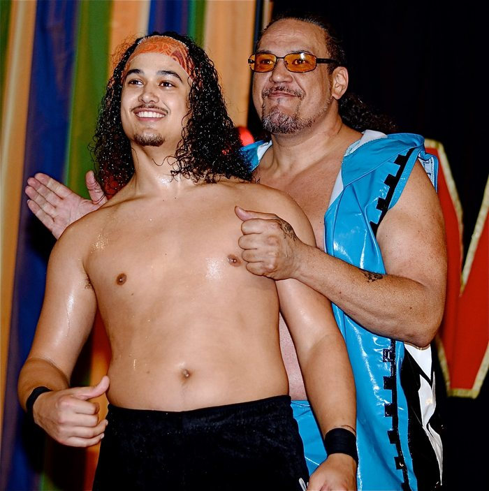 Samu and Lance Anoa'i