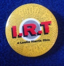 Original I.R.T. Button  Limited Edition
