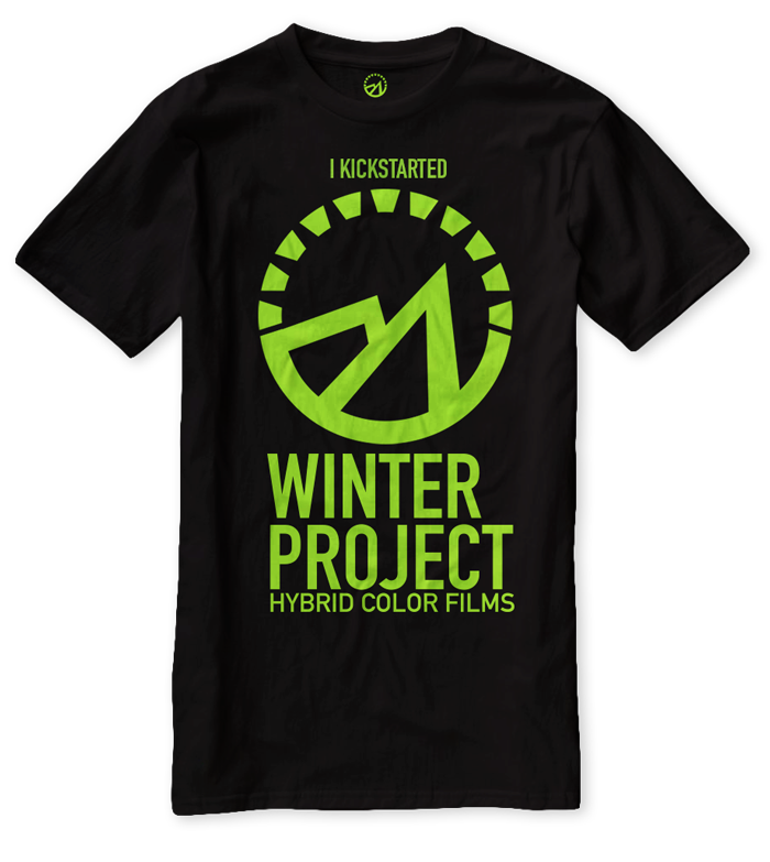 Winter Project KickStarter Tshirt