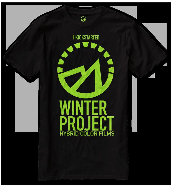 Winter Project KickStarter Tshirt