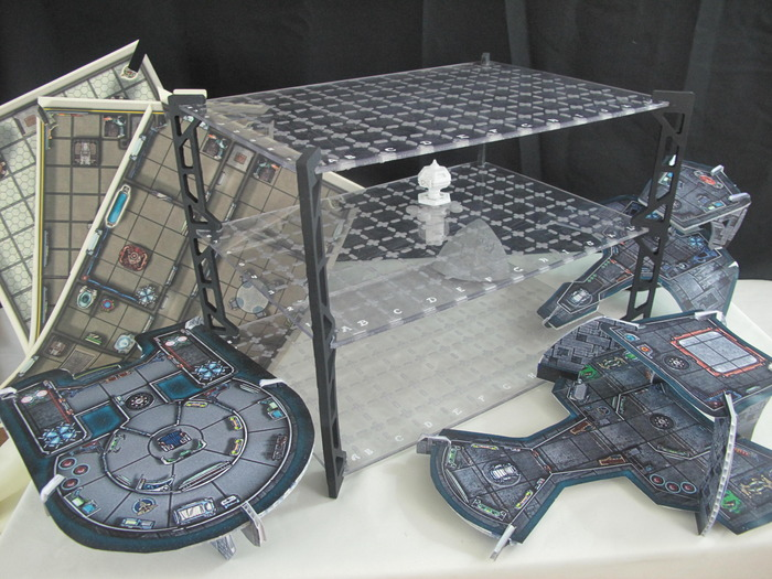 3D Battle Boards!  $75 Pledge level shown.  You get everything!