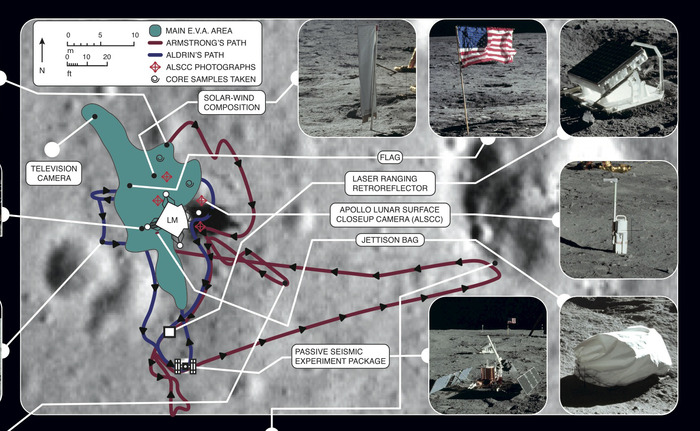 Tranquility Base Map