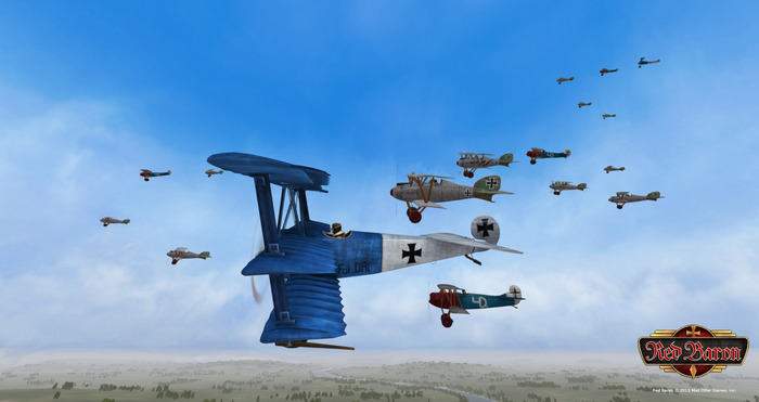 Red Baron will have many different types of planes, all of which can be unlocked and populated into your hangar.