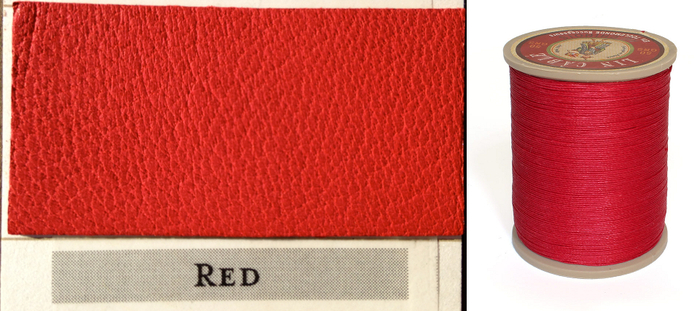 Red Thread & Leather
