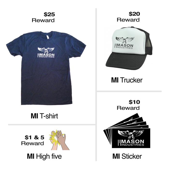 MI Rewards - t-shirts, hats, stickers and high five's